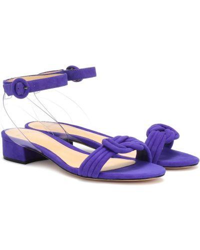 Фиолетовые сандалии Alexandre Birman