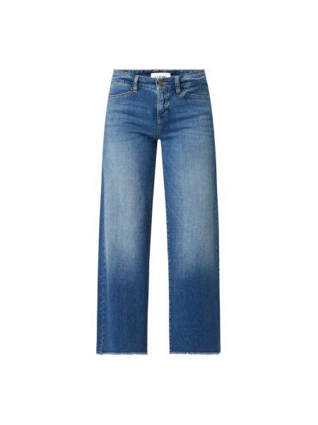 Niebieskie spodnie bawełniane Cambio