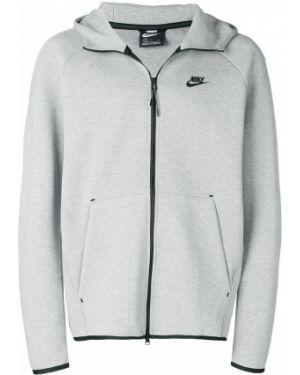 Спортивная толстовка на молнии с капюшоном узкого кроя Nike