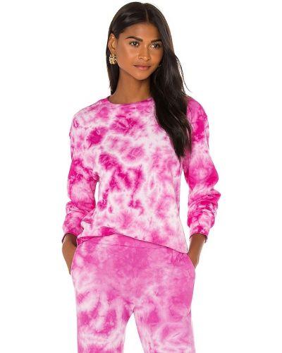 Bluza dresowa - różowa Monrow