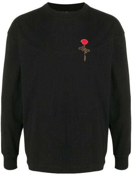 Koszula z długim rękawem z logo długa Palm Angels