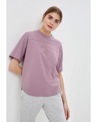 Фиолетовое поло Puma