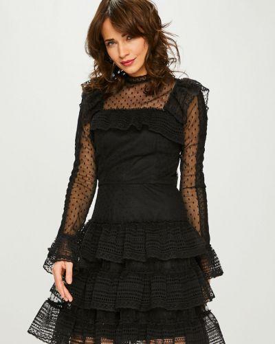 Платье мини прямое с оборками Miss Sixty