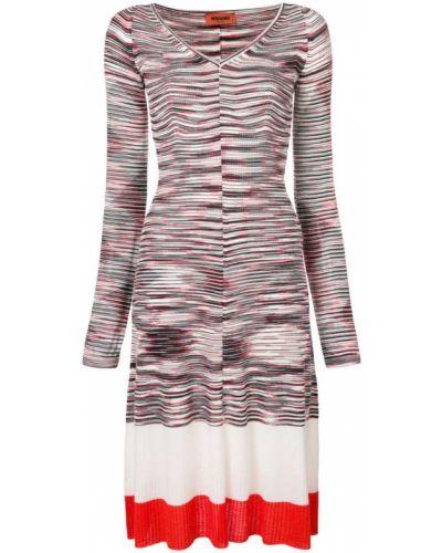 Платье миди макси в полоску Missoni