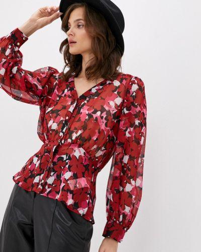 Красная блузка с длинными рукавами Morgan
