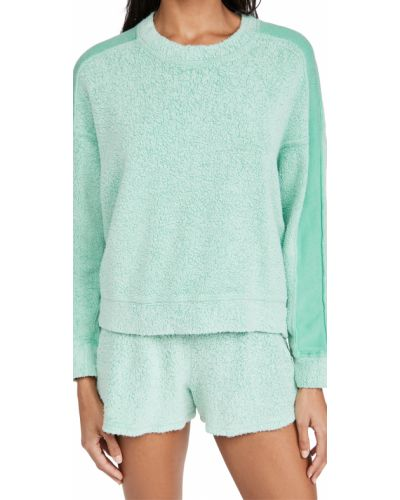 Трикотажный пуловер - зеленый Stateside