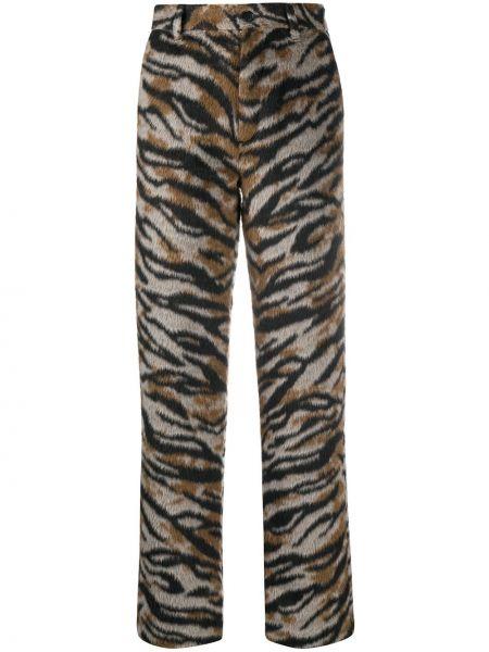 Прямые акриловые черные брюки на пуговицах Zadig&voltaire
