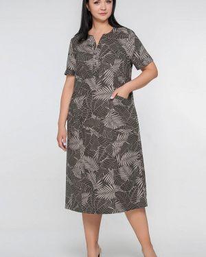 Платье - серое Лимонти