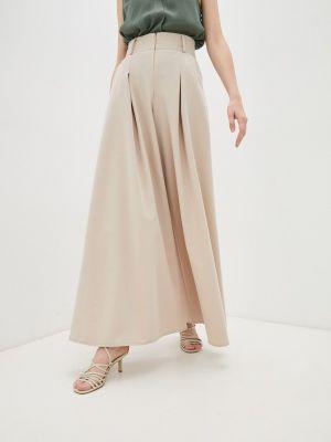 Бежевые брюки повседневные Irma Dressy