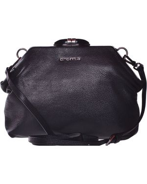 Черная кожаная сумка Cromia
