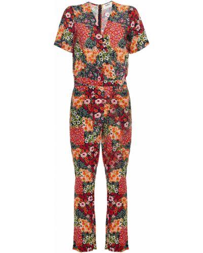 Текстильный плиссированный комбинезон с карманами Ba&sh
