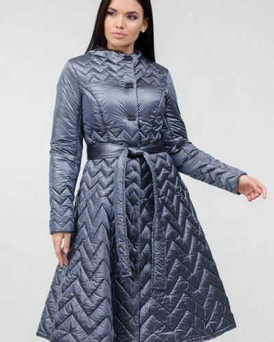 Серебряная теплая куртка Raslov