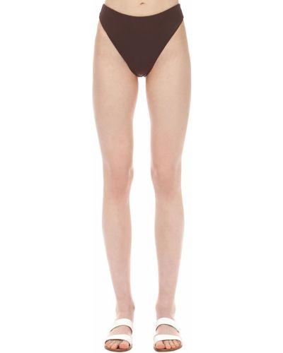Klasyczny bikini z wysokim stanem bezszwowy Aexae