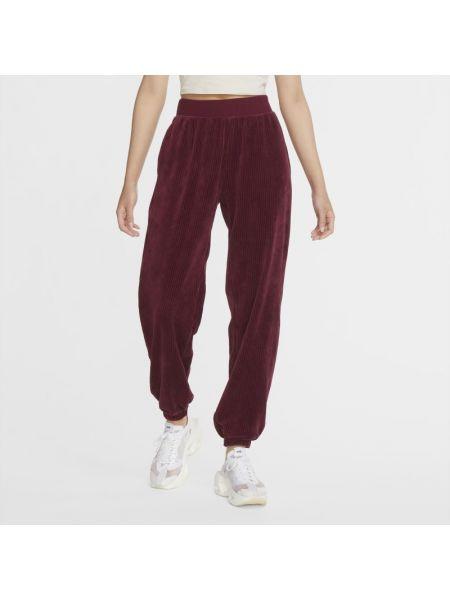 Czerwony klasyczny klasyczne spodnie Nike