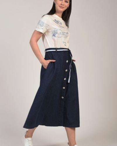 Хлопковая юбка Elena Miro