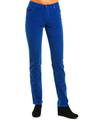 Хлопковые брюки - синие Cerruti 18crr81