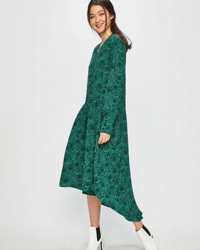 Платье миди повседневное с декольте Jacqueline De Yong
