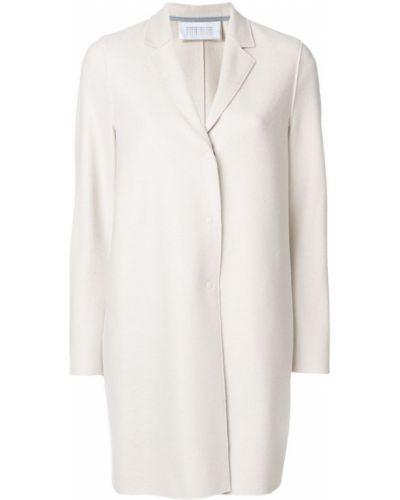 Длинное пальто на кнопках классическое прямое Harris Wharf London