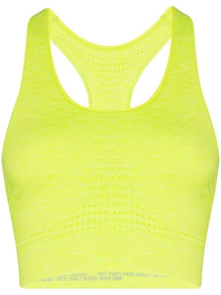Желтый спортивный топ Sweaty Betty