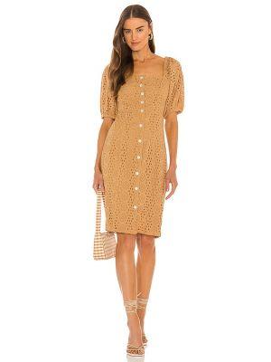 Sukienka midi bawełniana Cleobella
