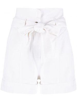 Шорты с карманами - белые Twin-set