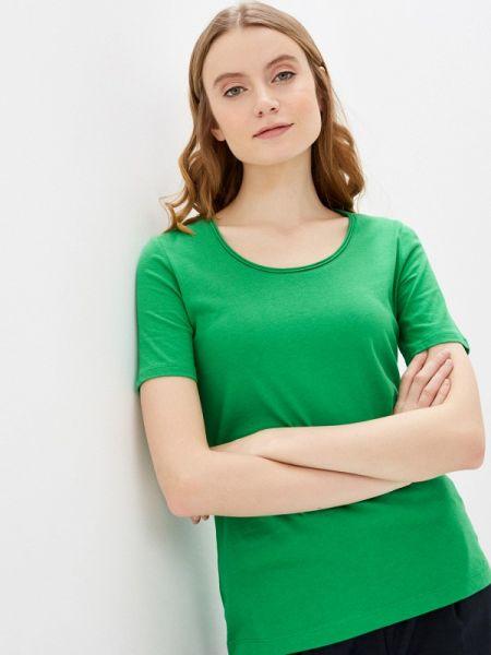 Поло зеленый футбольный S.oliver