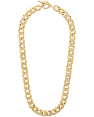 Ожерелье золотое для полных All Blues
