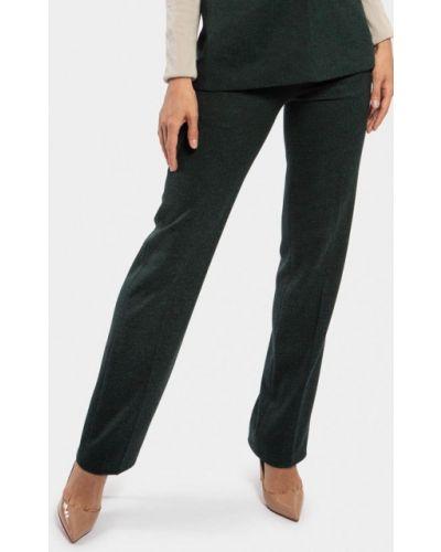 Классические брюки зеленый весенний Vladi Collection