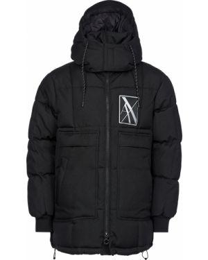 Куртка из полиэстера - черная Armani Exchange