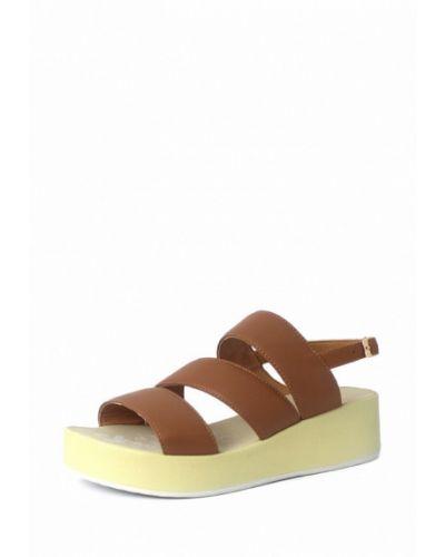 Коричневые босоножки на каблуке Blizzarini