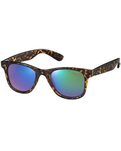 Brązowe okulary Polaroid