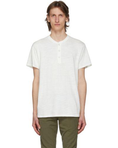 Bawełna bawełna biały krótkie szorty z kołnierzem Rag & Bone