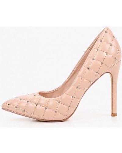 Кожаные розовые туфли-лодочки Sergio Todzi