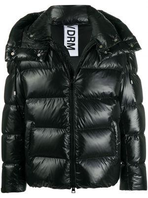 Klasyczna czarna kurtka pikowana Drome