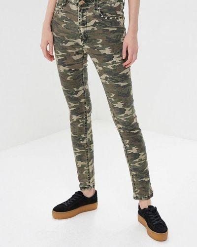 Повседневные зеленые брюки Custo Barcelona