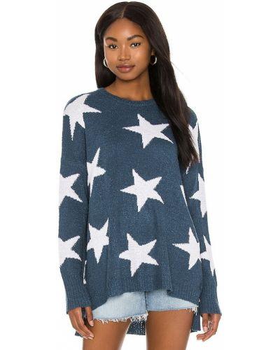 Niebieski sweter z akrylu Show Me Your Mumu