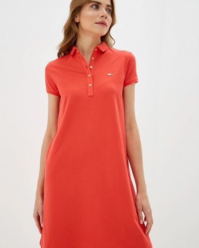 Платье футболка коралловый U.s. Polo Assn.