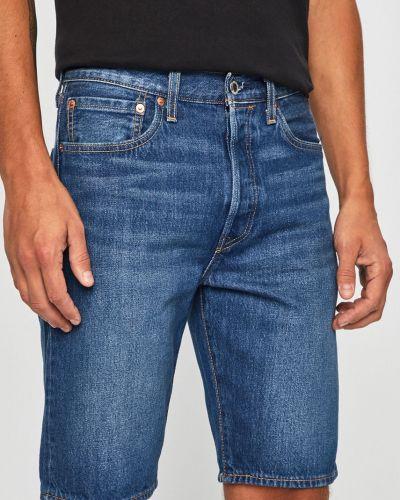 Коричневые джинсовые шорты с карманами из овчины на пуговицах Levi's®