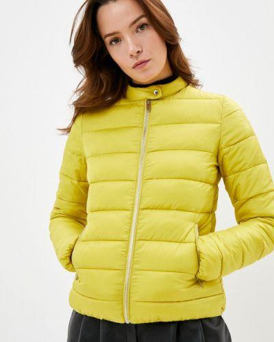 Утепленная куртка - желтая Befree