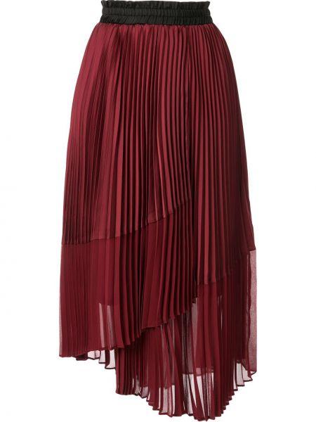 Асимметричная плиссированная юбка на резинке Frei Ea