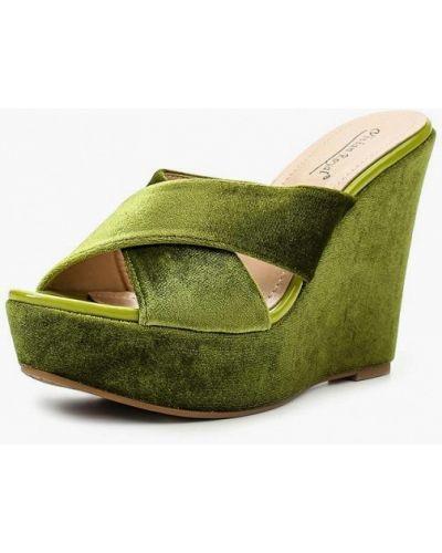 Зеленые сабо Vivian Royal