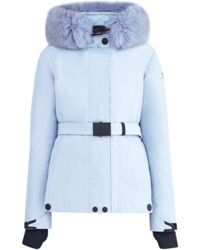 Горнолыжная куртка на молнии с перьями Moncler