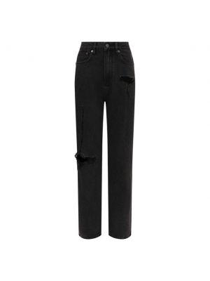 Хлопковые джинсы - серые Ksubi