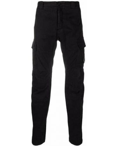 Czarne spodnie C.p. Company