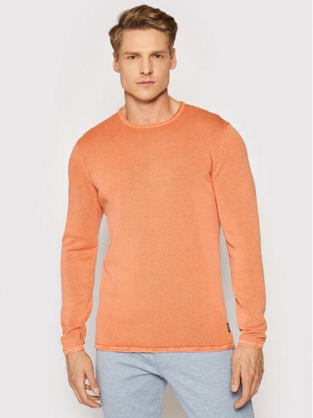 Sweter - pomarańczowy Only & Sons