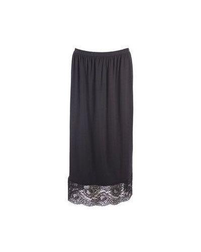 Черная повседневная юбка Moschino Love