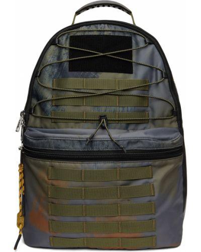 Plecak skórzany - khaki Diesel