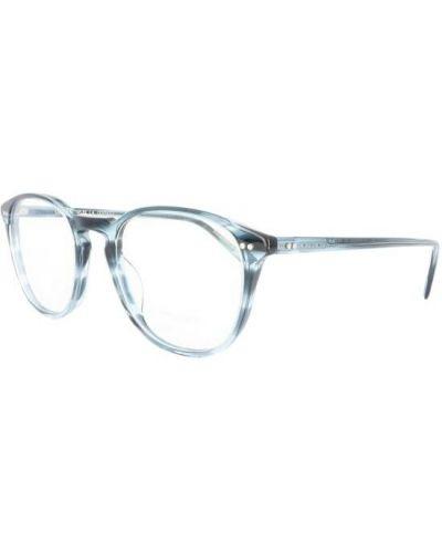Niebieskie okulary Oliver Peoples