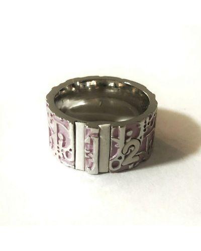 Różowy pierścionek Dior Vintage