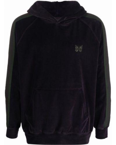 Bluza z kapturem - czarna Needles